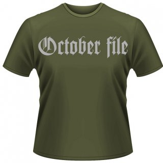 OCTOBER FILE Why...? (green), Tシャツ<img class='new_mark_img2' src='https://img.shop-pro.jp/img/new/icons5.gif' style='border:none;display:inline;margin:0px;padding:0px;width:auto;' />