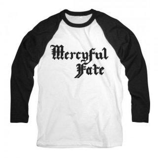 MERCYFUL FATE Logo, ラグランロングTシャツ