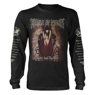 CRADLE OF FILTH Cruelty And The Beast, ロングTシャツ<img class='new_mark_img2' src='https://img.shop-pro.jp/img/new/icons5.gif' style='border:none;display:inline;margin:0px;padding:0px;width:auto;' />