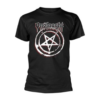 ONSLAUGHT Pentagram, Tシャツ<img class='new_mark_img2' src='https://img.shop-pro.jp/img/new/icons5.gif' style='border:none;display:inline;margin:0px;padding:0px;width:auto;' />