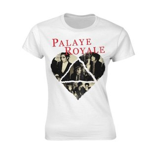 PALAYE ROYALE Heart, レディースTシャツ<img class='new_mark_img2' src='https://img.shop-pro.jp/img/new/icons5.gif' style='border:none;display:inline;margin:0px;padding:0px;width:auto;' />