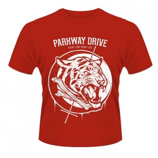PARKWAY DRIVE Tiger Bones, Tシャツ