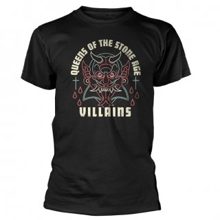 QUEENS OF THE STONE AGE Villains, Tシャツ<img class='new_mark_img2' src='https://img.shop-pro.jp/img/new/icons5.gif' style='border:none;display:inline;margin:0px;padding:0px;width:auto;' />