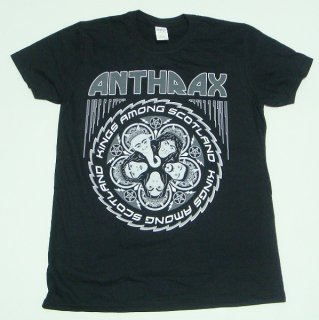 ANTHRAX Kings Among Scotland, Tシャツ