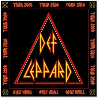 DEF LEPPARD 2018 Tour Target, バンダナ