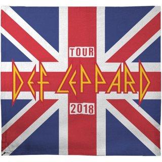 DEF LEPPARD 2018 Tour Union Jack, ブランケット