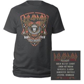 DEF LEPPARD 2018 Tour Rock Brigade, Tシャツ