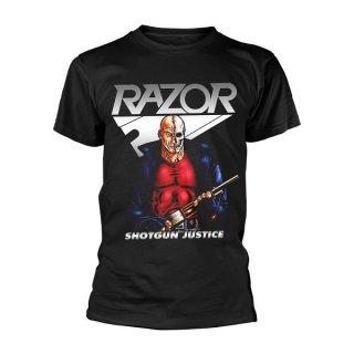 RAZOR Shotgun Justice, Tシャツ<img class='new_mark_img2' src='https://img.shop-pro.jp/img/new/icons5.gif' style='border:none;display:inline;margin:0px;padding:0px;width:auto;' />