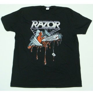 RAZOR Violent Restitution, Tシャツ<img class='new_mark_img2' src='https://img.shop-pro.jp/img/new/icons5.gif' style='border:none;display:inline;margin:0px;padding:0px;width:auto;' />