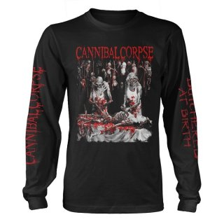 CANNIBAL CORPSE Butchered At Birth Explicit, ロングTシャツ