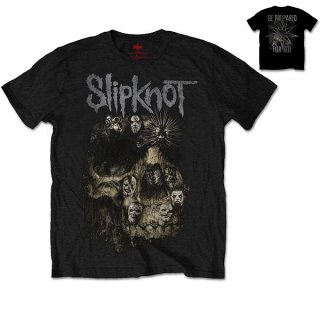 SLIPKNOT Skull Group, Tシャツ