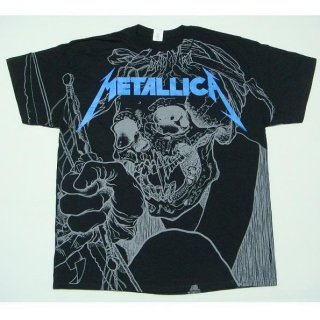 METALLICA Japanese Justice A/o, Tシャツ
