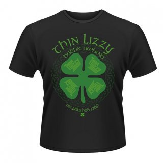 THIN LIZZY Four Leaf Clover, Tシャツ