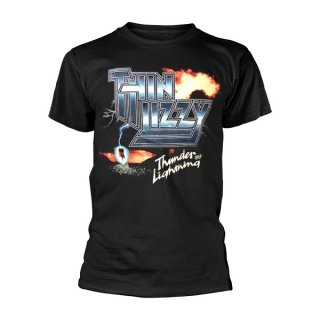 THIN LIZZY Thunder And Lightning, Tシャツ