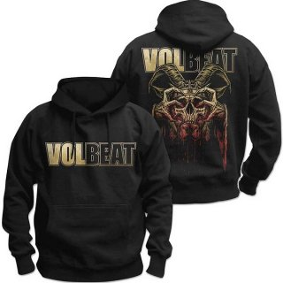 VOLBEAT Bleeding Crown Skull, パーカー