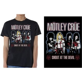 MOTLEY CRUE Shout At The Devil, Tシャツ