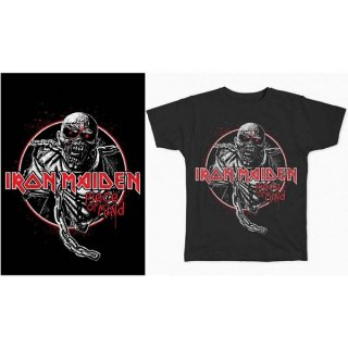 IRON MAIDEN Piece Of Mind Circle, Tシャツ