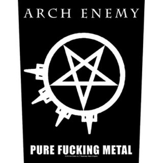 ARCH ENEMY Pure Fucking Metal, バックパッチ