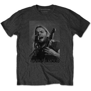 DAVID GILMOUR On Microphone Half-Tone, Tシャツ