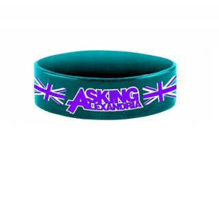 ASKING ALEXANDRIA Blokes, シリコンリストバンド<img class='new_mark_img2' src='https://img.shop-pro.jp/img/new/icons5.gif' style='border:none;display:inline;margin:0px;padding:0px;width:auto;' />