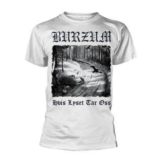 BURZUM Hvis Lyset Tar Oss (white), Tシャツ