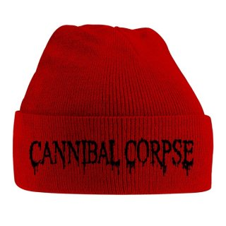 CANNIBAL CORPSE Black Logo, ニットキャップ