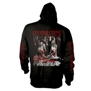 CANNIBAL CORPSE Butchered At Birth (explicit), Zip-Upパーカー<img class='new_mark_img2' src='https://img.shop-pro.jp/img/new/icons5.gif' style='border:none;display:inline;margin:0px;padding:0px;width:auto;' />