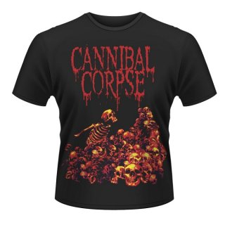 CANNIBAL CORPSE Pile Of Skulls, Tシャツ