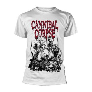 CANNIBAL CORPSE Pile Of Skulls (white), Tシャツ<img class='new_mark_img2' src='https://img.shop-pro.jp/img/new/icons5.gif' style='border:none;display:inline;margin:0px;padding:0px;width:auto;' />