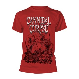 CANNIBAL CORPSE Pile Of Skulls 2018 (red), Tシャツ<img class='new_mark_img2' src='https://img.shop-pro.jp/img/new/icons5.gif' style='border:none;display:inline;margin:0px;padding:0px;width:auto;' />