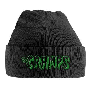 THE CRAMPS Green Logo, ニットキャップ<img class='new_mark_img2' src='https://img.shop-pro.jp/img/new/icons5.gif' style='border:none;display:inline;margin:0px;padding:0px;width:auto;' />