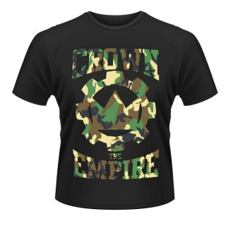 CROWN THE EMPIRE Run And Hide, Tシャツ<img class='new_mark_img2' src='https://img.shop-pro.jp/img/new/icons5.gif' style='border:none;display:inline;margin:0px;padding:0px;width:auto;' />
