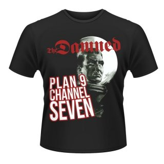 THE DAMNED Plan 9 Channel 7 (plan 9), Tシャツ<img class='new_mark_img2' src='https://img.shop-pro.jp/img/new/icons5.gif' style='border:none;display:inline;margin:0px;padding:0px;width:auto;' />