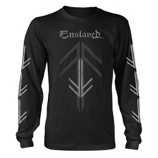 ENSLAVED Rune Cross, ロングTシャツ<img class='new_mark_img2' src='https://img.shop-pro.jp/img/new/icons5.gif' style='border:none;display:inline;margin:0px;padding:0px;width:auto;' />