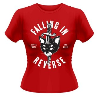 FALLING IN REVERSE Dagger Cat, レディースTシャツ<img class='new_mark_img2' src='https://img.shop-pro.jp/img/new/icons5.gif' style='border:none;display:inline;margin:0px;padding:0px;width:auto;' />