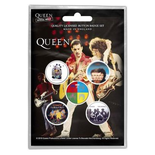 QUEEN Later Albums, バッジセット