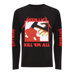 METALLICA Kill Em All Black, ロングTシャツ