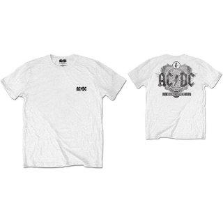 AC/DC Black Ice Wht, Tシャツ