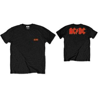 AC/DC Logo Blk, Tシャツ