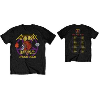 ANTHRAX War Dance Paul Ale World Tour 2018, Tシャツ