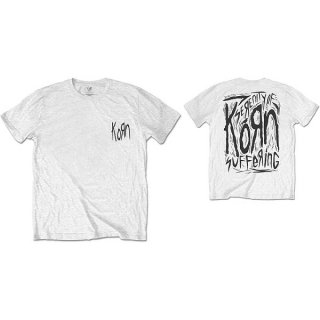 KORN Scratched Type, Tシャツ
