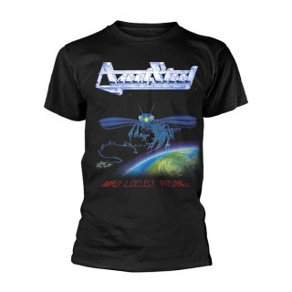 AGENT STEEL Mad Locust Rising, Tシャツ