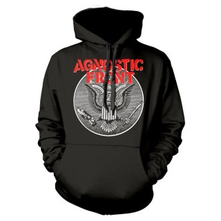 AGNOSTIC FRONT Against All Eagle, パーカー<img class='new_mark_img2' src='https://img.shop-pro.jp/img/new/icons5.gif' style='border:none;display:inline;margin:0px;padding:0px;width:auto;' />
