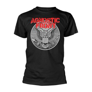 AGNOSTIC FRONT Against All Eagle, Tシャツ