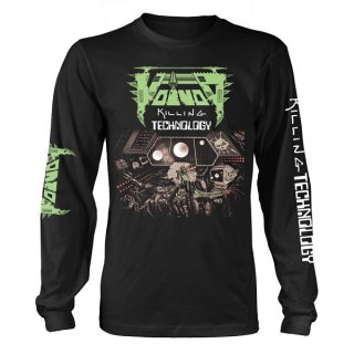 VOIVOD Killing Technology, ロングTシャツ<img class='new_mark_img2' src='https://img.shop-pro.jp/img/new/icons5.gif' style='border:none;display:inline;margin:0px;padding:0px;width:auto;' />