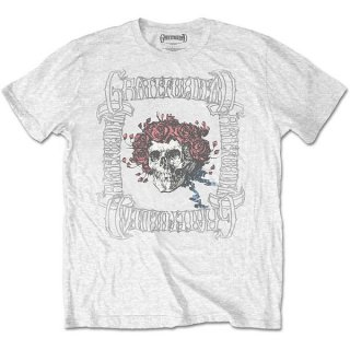 GRATEFUL DEAD Bertha With Logo Box Wht, Tシャツ