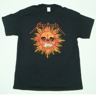 METALLICA Pushead Sun, Tシャツ
