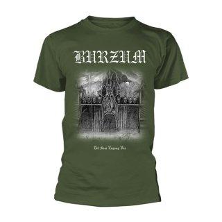 BURZUM Det Som Engang Var Green, Tシャツ