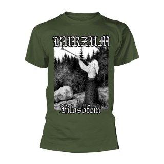 BURZUM Filosofem Green, Tシャツ