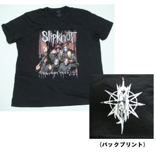 SLIPKNOT Wanyk Group Photo, Tシャツ